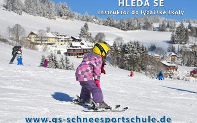 Hledá se lyžařský instruktor / instruktorka!