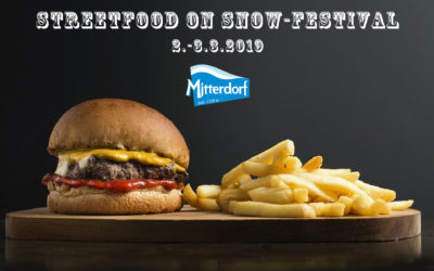 Streetfood on snow-Festival